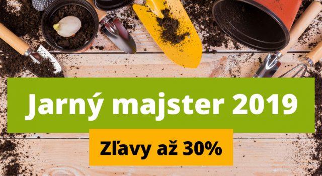 Akcia Jarný majster 2019 | Ela stavebniny Vranov nad Topľou