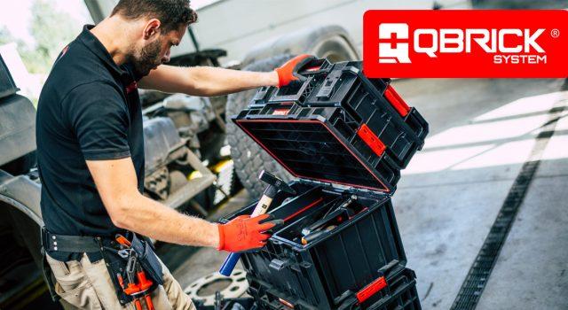 Qbrick System ONE - Profi / TWO - Hobby - Robustná vodotesná a prachuvzdorná konštrukcia zabezpečuje vysoký štandard ochrany aj pre hodnotné náradie.