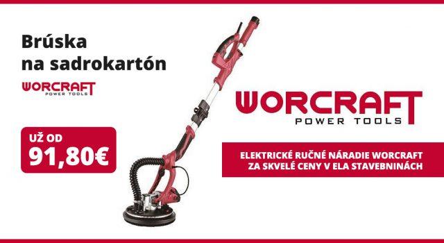 Ručné elektrické náradie Worcraft Power Tools