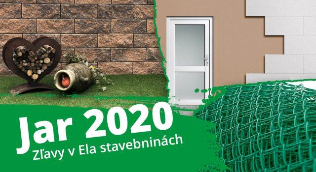 Akcia Jar 2020 - jarné zľavy na vybrané produkty